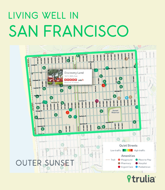 San Francisco Takes Top Honors On Trulia's Best Neighborhoods List