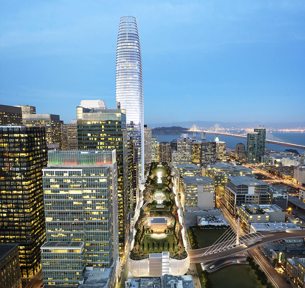 The Best Of Salesforce Tower Rising   Including Time-Lapse