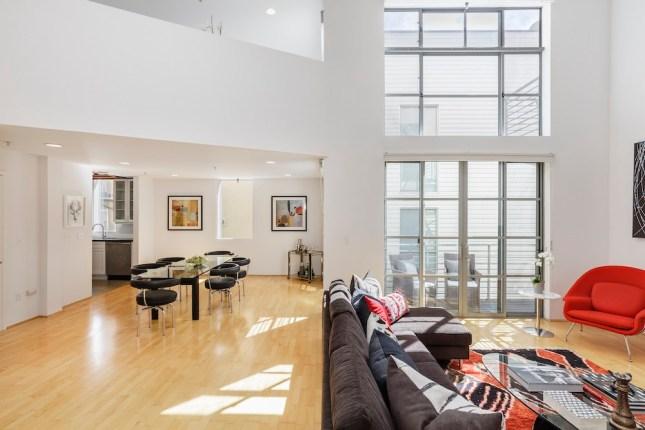 For Sale   249 Shipley #12   SOMA Penthouse Loft   $1,050,000