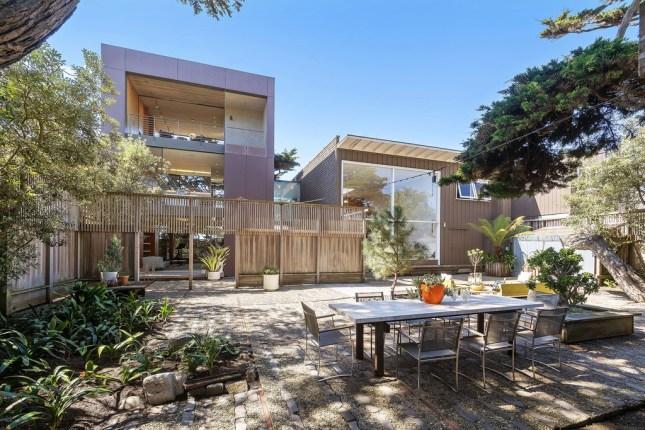 Ernest Born Oceanfront Mid-Century Beach House On San Francisco&#...