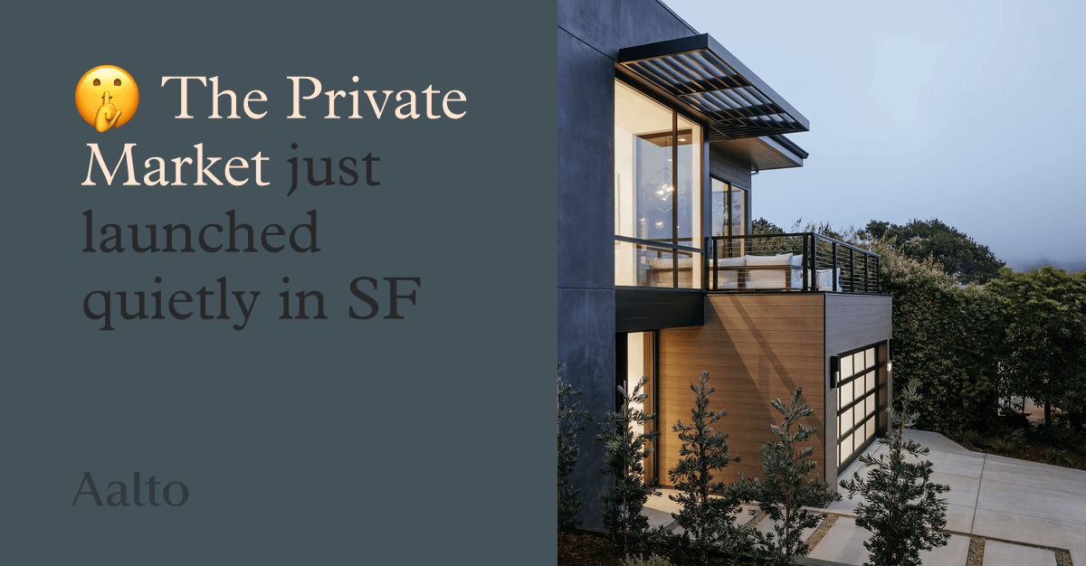 Exclusive Access To San Francisco Off Market (Private) Listings