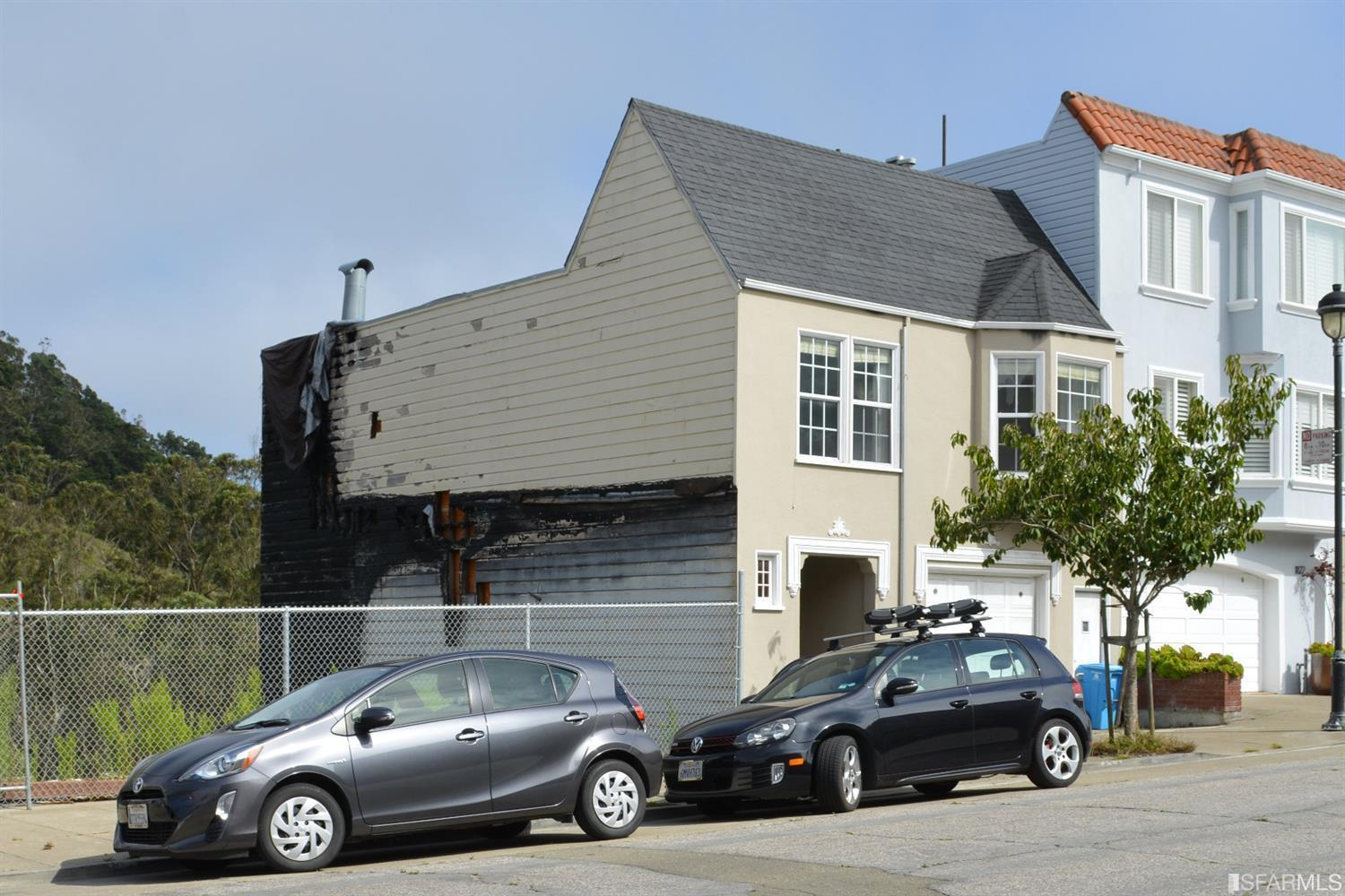Fire Damaged Home In San Francisco Sells For $602,000 Over Asking