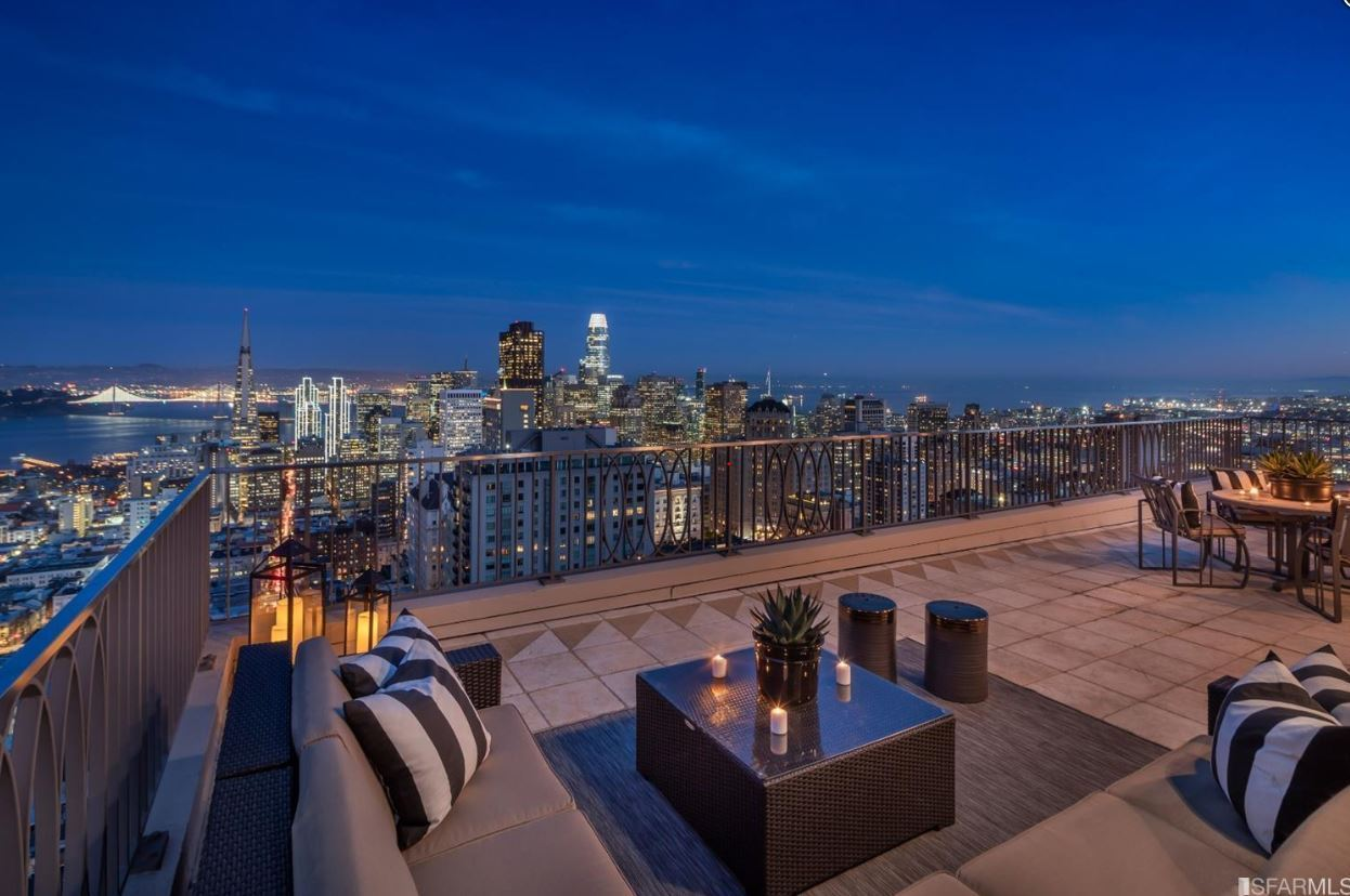 Historic Penthouse With One of the Largest Private Terraces in San Francisco | $16,000,000