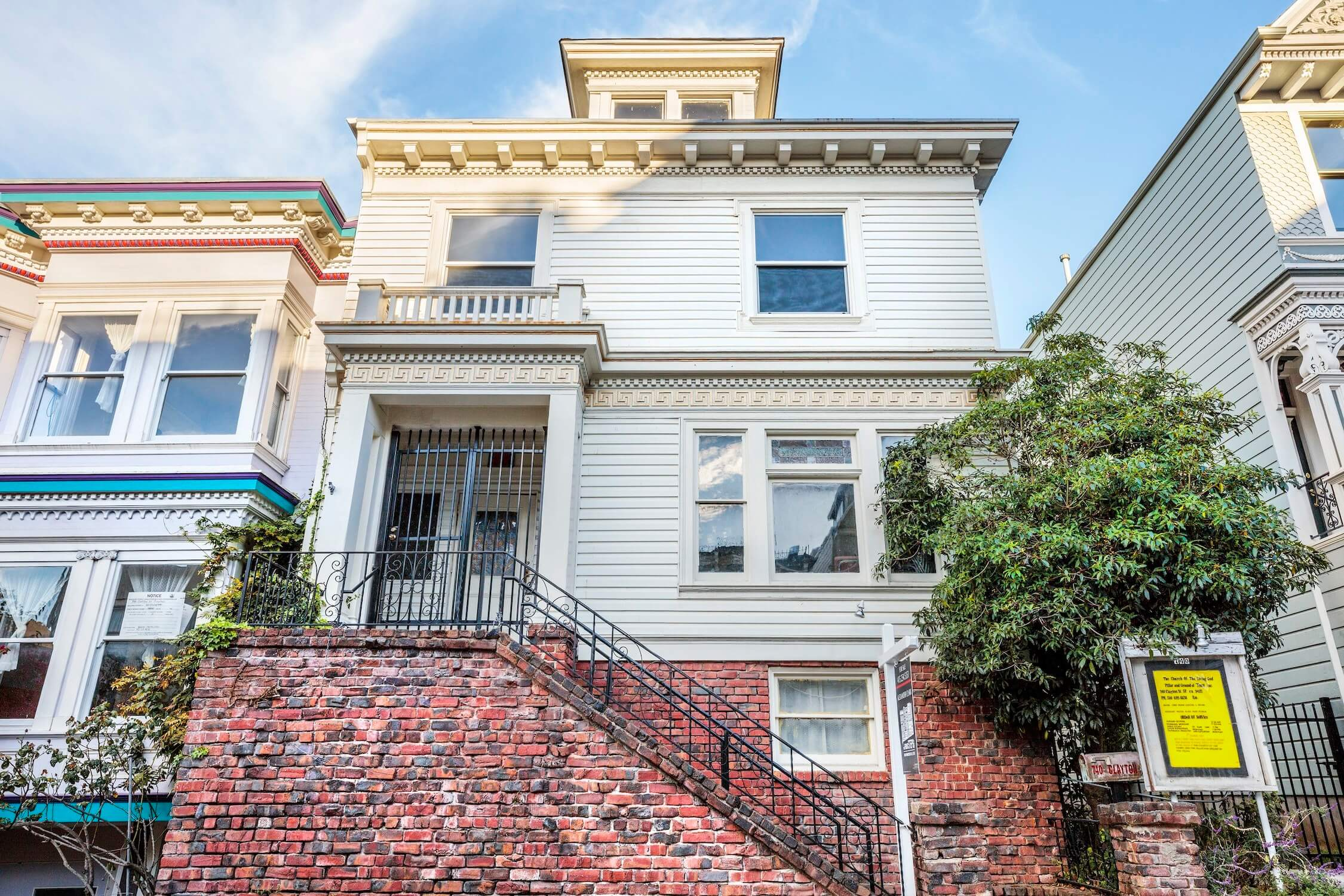 FOR SALE | 740 Clayton | Haight-Ashbury / Cole Valley | $2,495,000