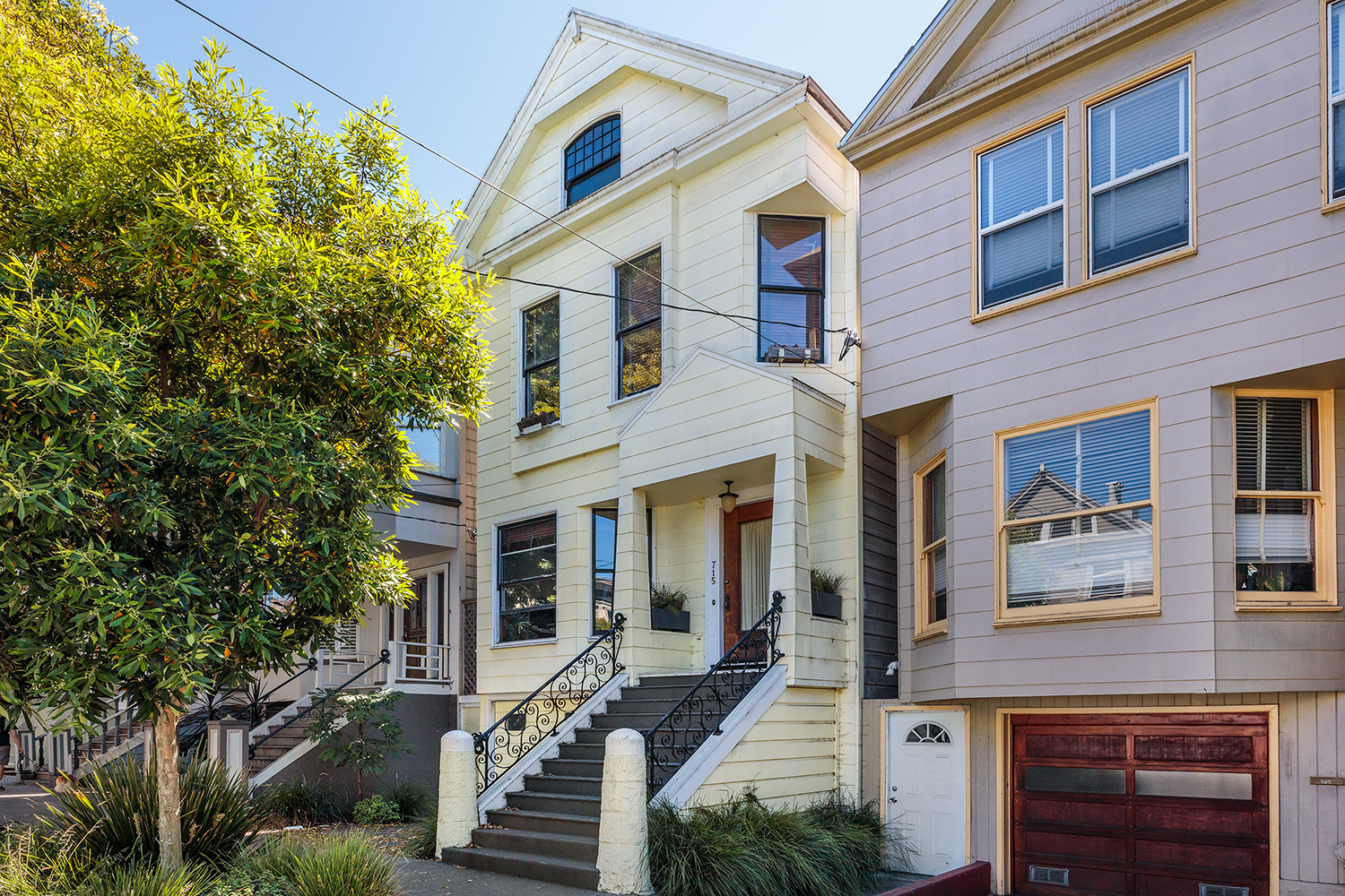 Cole Valley Single Family Home For Sale Not on MLS