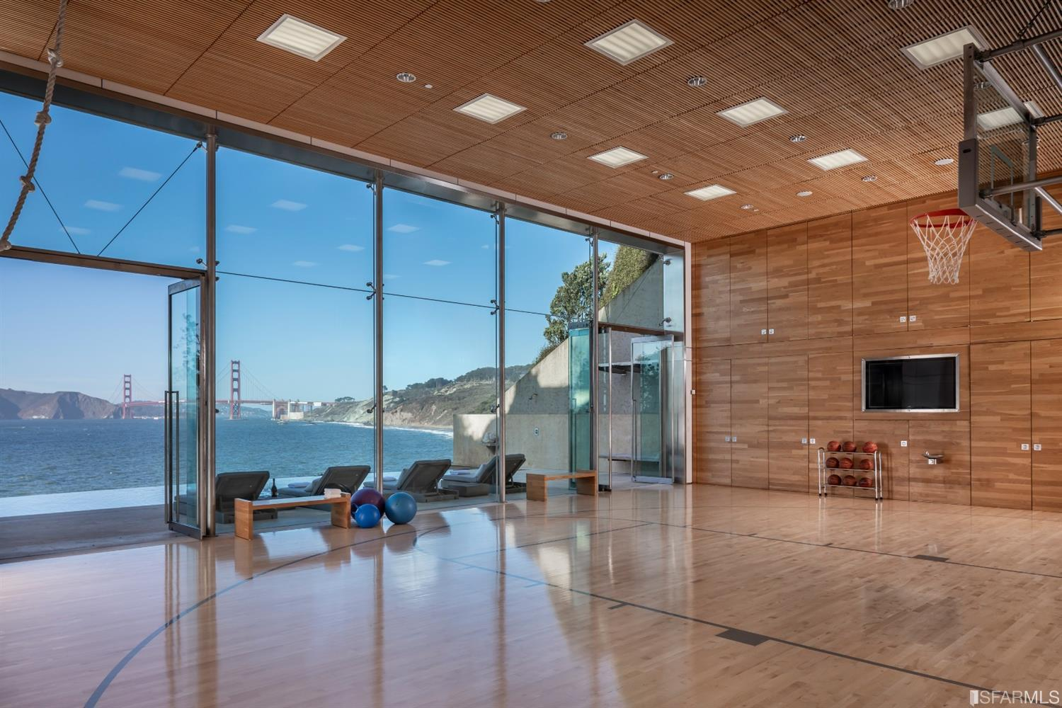 Sea Cliff Home Boast Baller Views, and Basketball Court for $25,000,000
