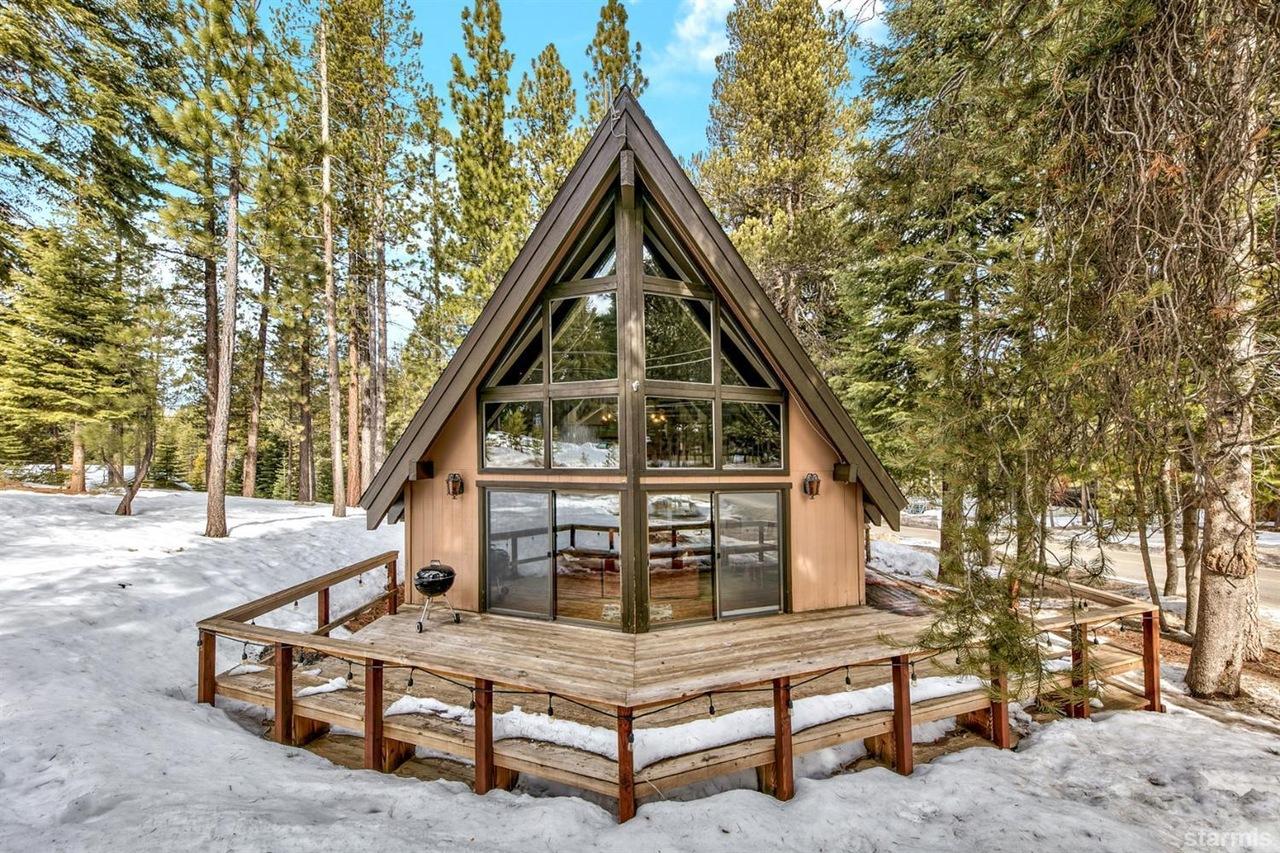 Lake Tahoe A Frame Time Warp Asks $529,000