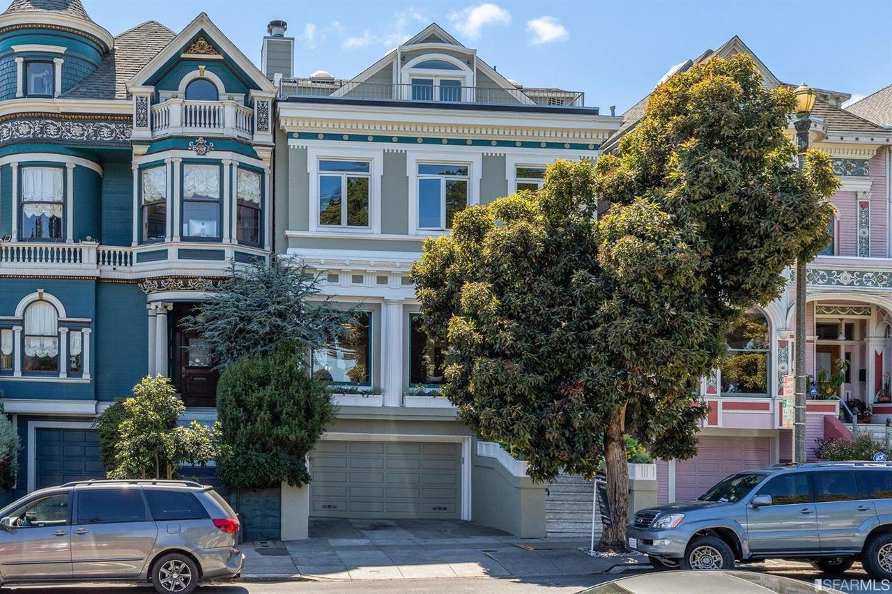 """Queen of the Fillmore's"" Scott Street Mansion asks $7.85 Million"