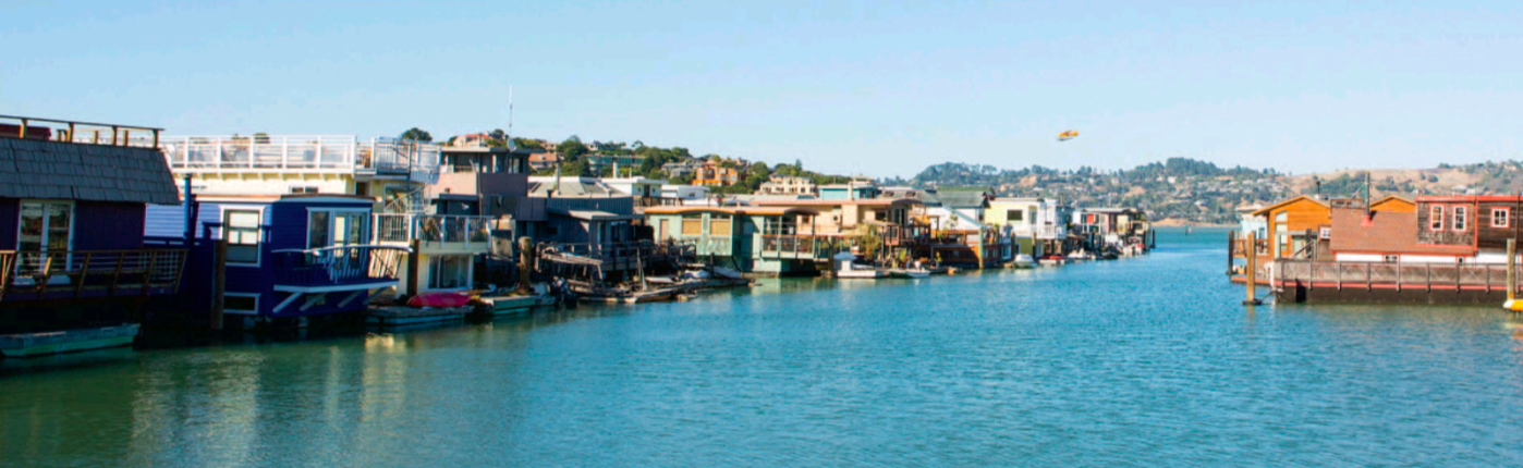 The Truth About Marin County's Floating Homes