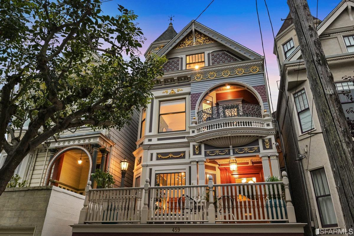 This $5 Million Haight Vic Renovated, Raring To Go