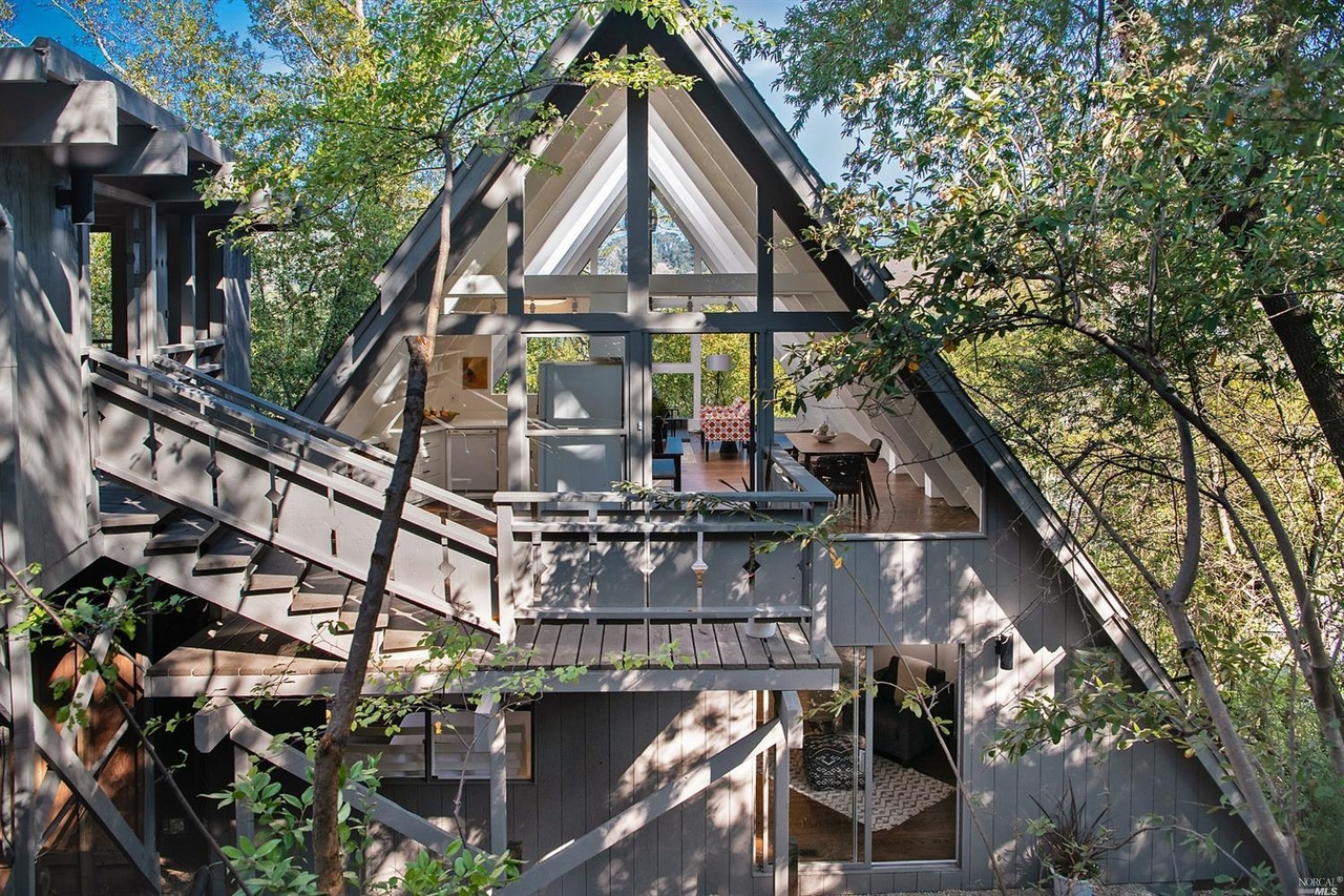 Mammoth Mill Valley A-Frame Asks $1.15 Million