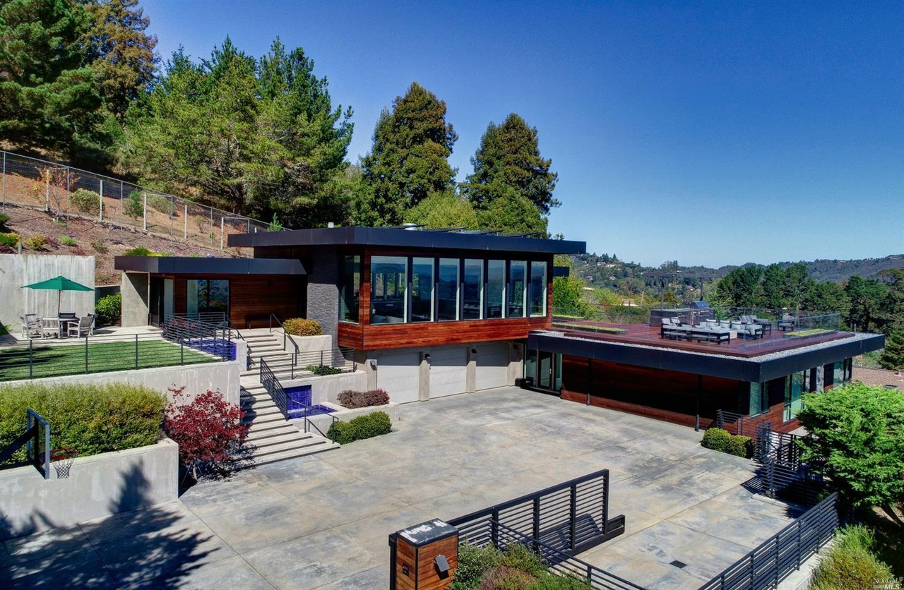 Mill Valley's Most Expensive Home Asks $12.5 Million