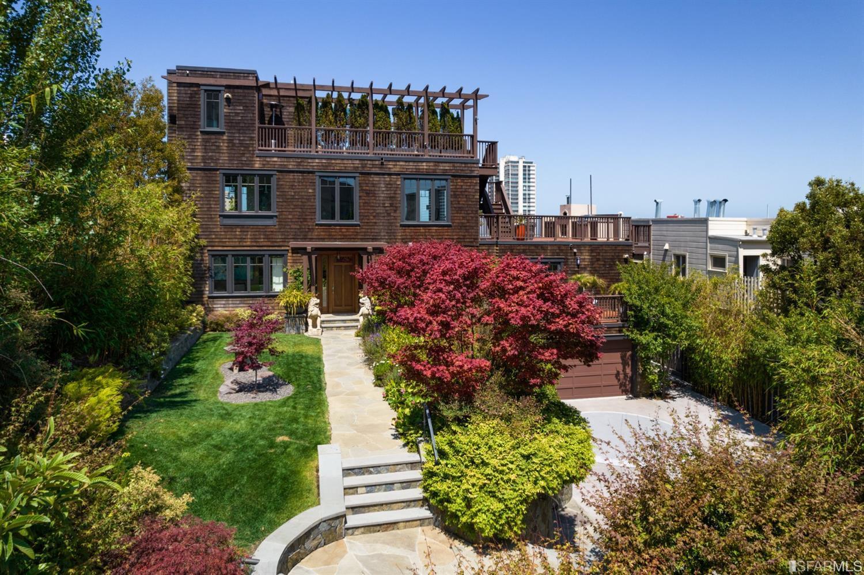 Be-Shingled Nob Hill Mansion Asks $17 Million